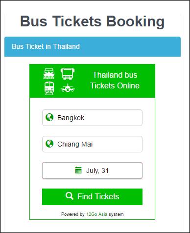 bus ticket online thailand