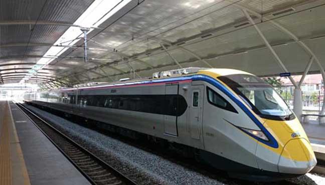 รถไฟ ktm มาเลเซีย