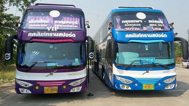 รถทัวร์เชียงใหม่ไปกาญจนบุรี