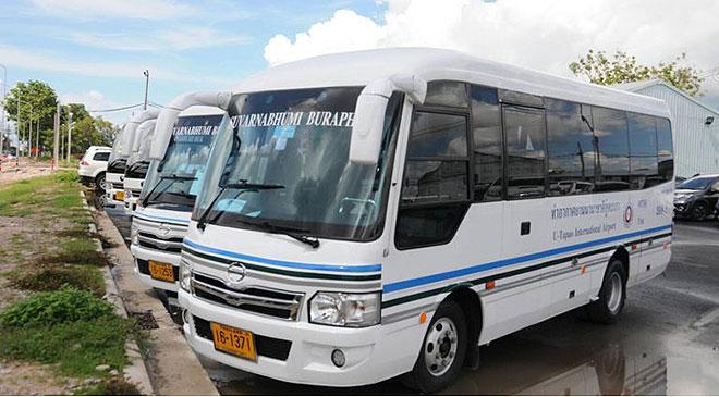 รถมินิบัสสนามบินอู่ตะเภา-ชลบุรี