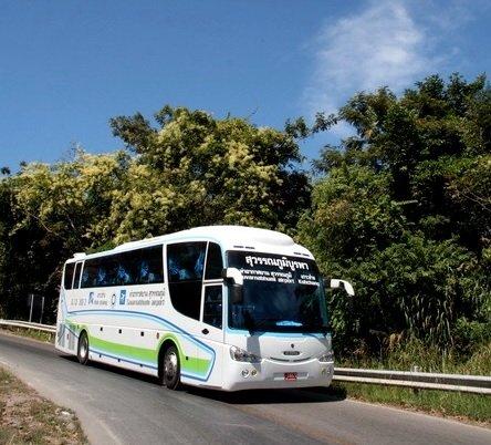 รถสววรณภูมิบูรพา เส้นทาง สนามบินสุวรรณภูมิ-เกาะช้าง