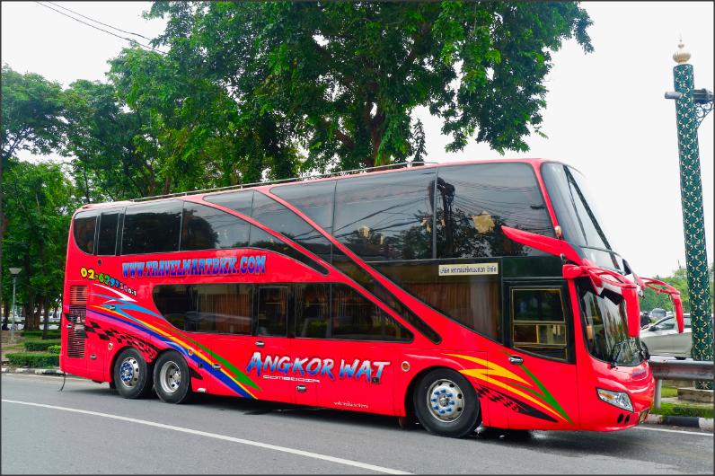 รถทัวร์กรุงเทพ-กัมพูชา